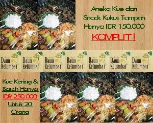 Aneka kue dan jajanan pasar Jakarta