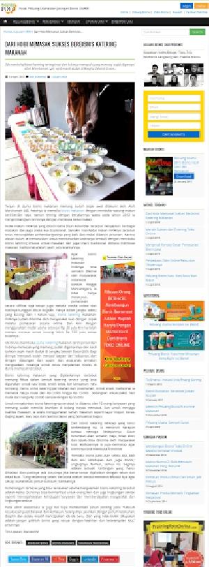 Interview Daun Ketumbar dengan UKM online